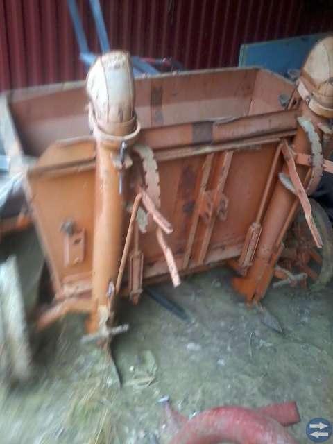 Potatissättare  traktordäck