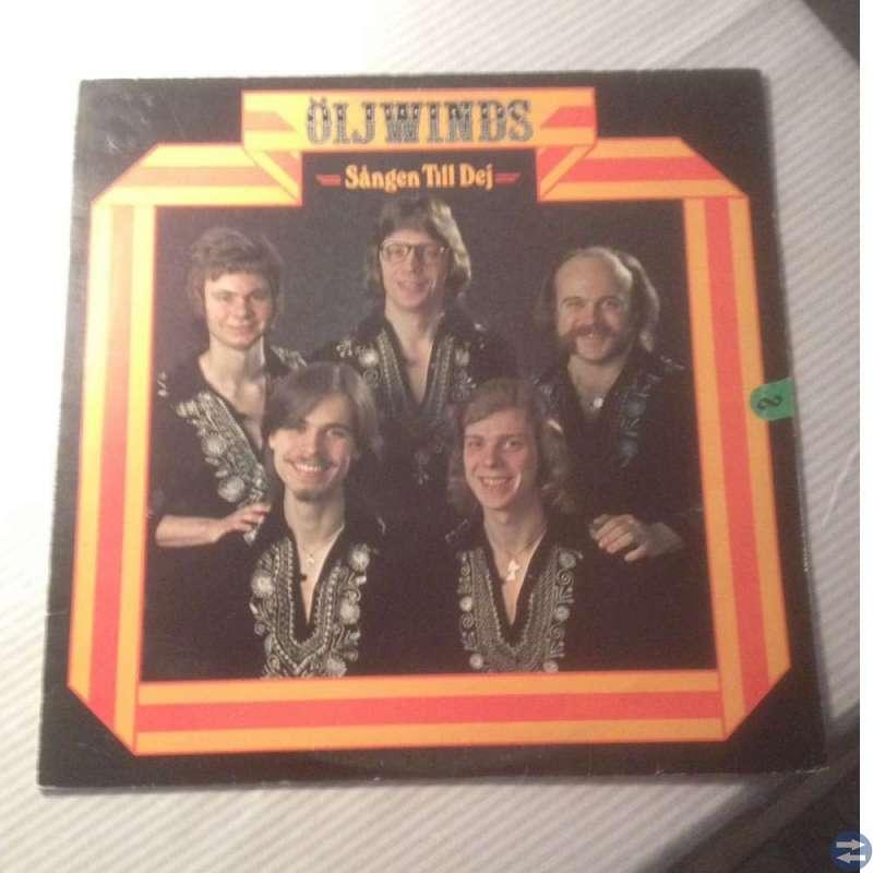Vinylskiva LP, Öijwinds, Sången till dej, 1977.