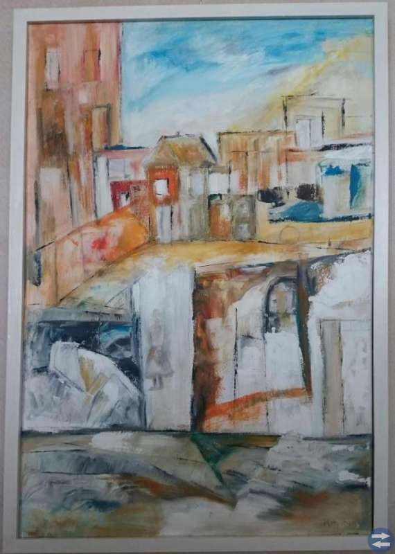 Ramar till pannåer ( målningar på tyg )