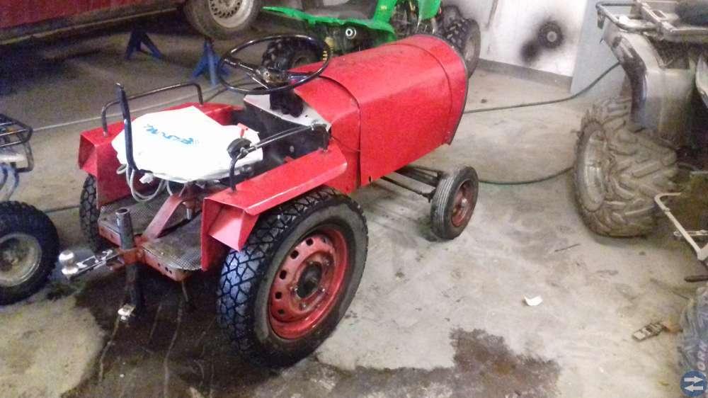 Traktor hemmabygge