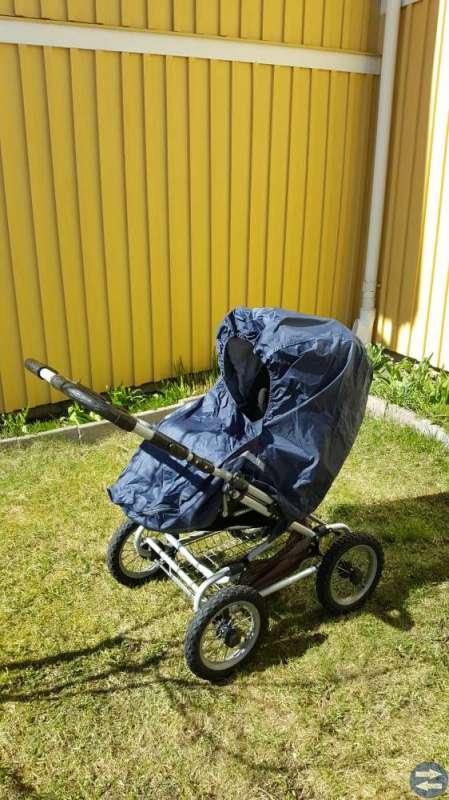 Brio sitt- och liggvagn