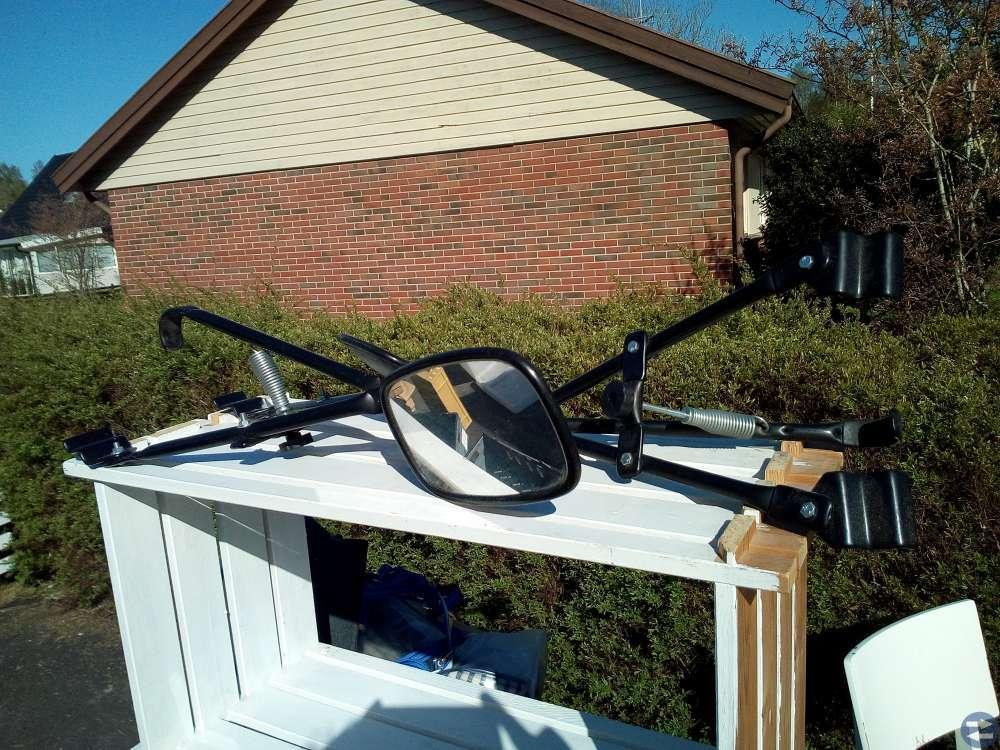 Husvagns speglar. 2 olika set