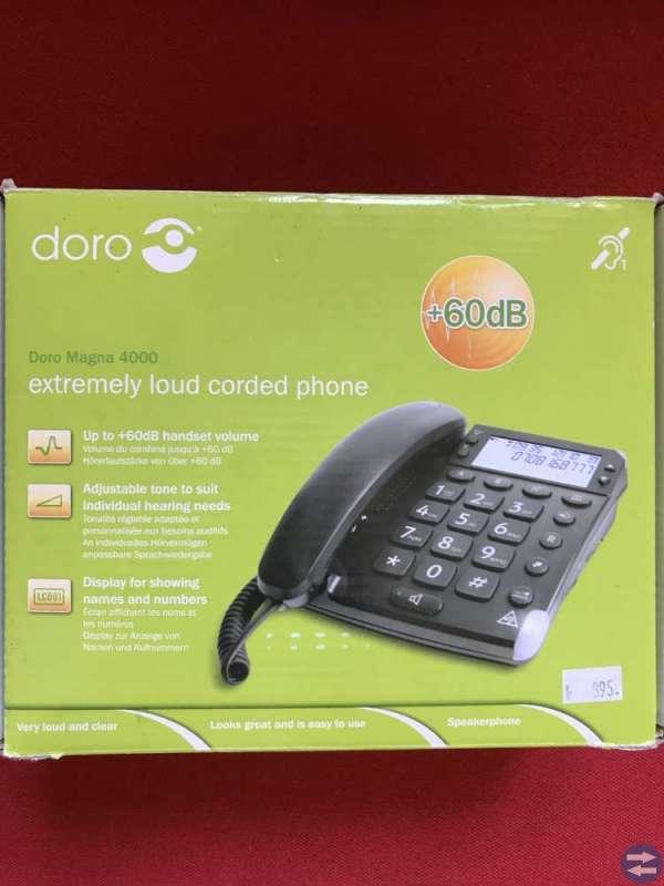 Doro telefon med stora knappar