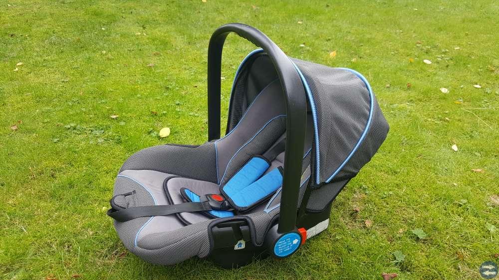 Barnvagn Knorr-Sitt och Liggvagn + Babyskydd.