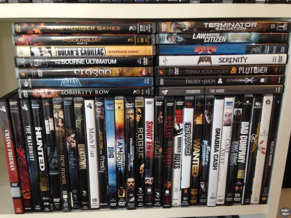 Dvd filmer/boxar