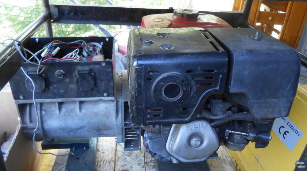 Honda Motor 13 hk Elverk startmotor