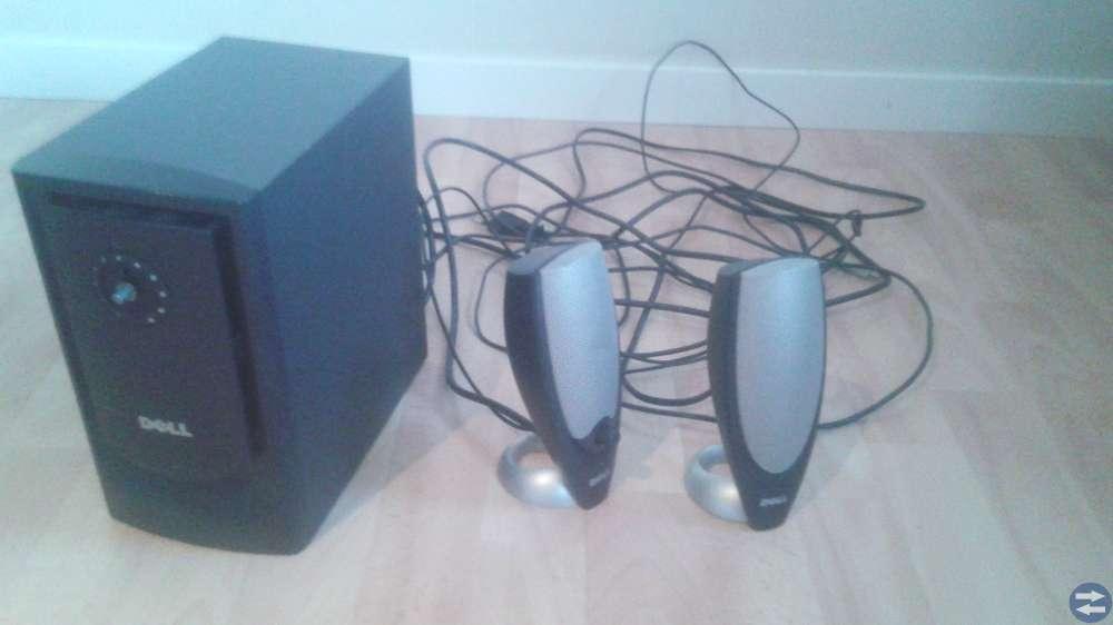 Dell Datorskärm Med förstärkare och högtalare