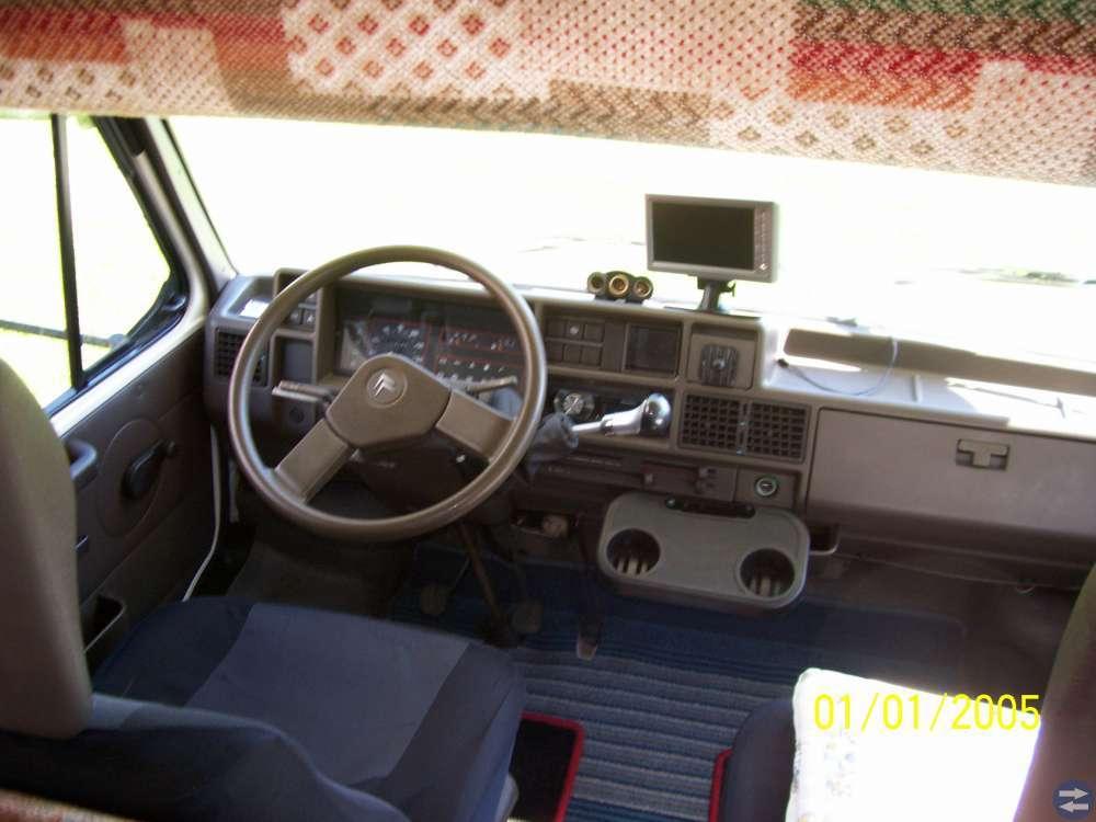 Burstner husbil 680 med alkov 1989
