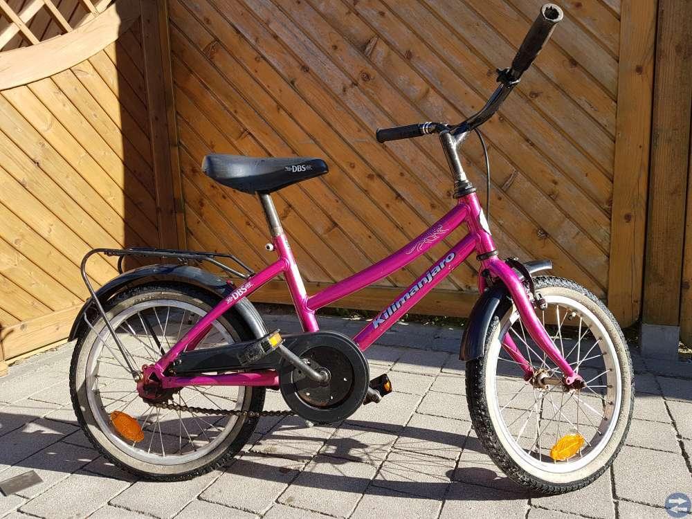 DBS barncykel 16 tum