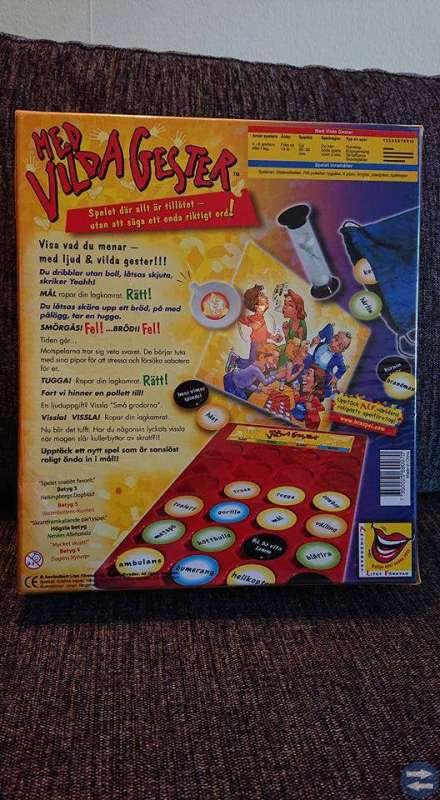 Sällskapsspel: Med vilda gester