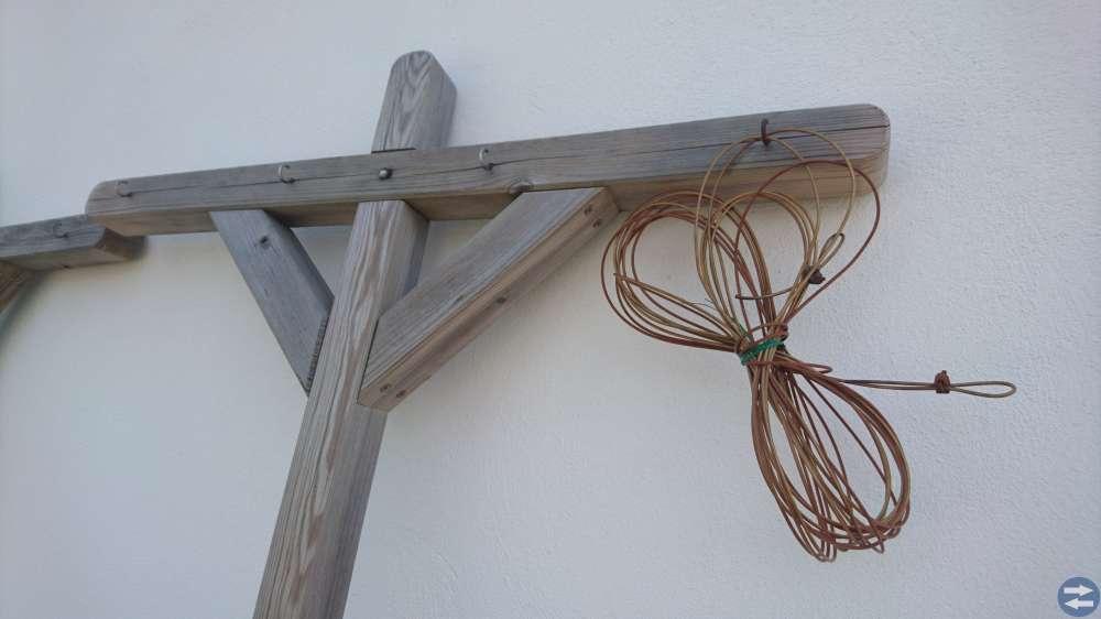 Torkställning med 20 meter lina, HORTUS