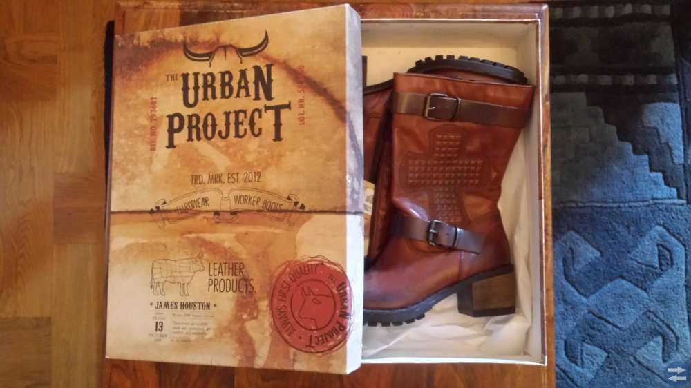 The Urban Project -Royal Cross Skinn Boots