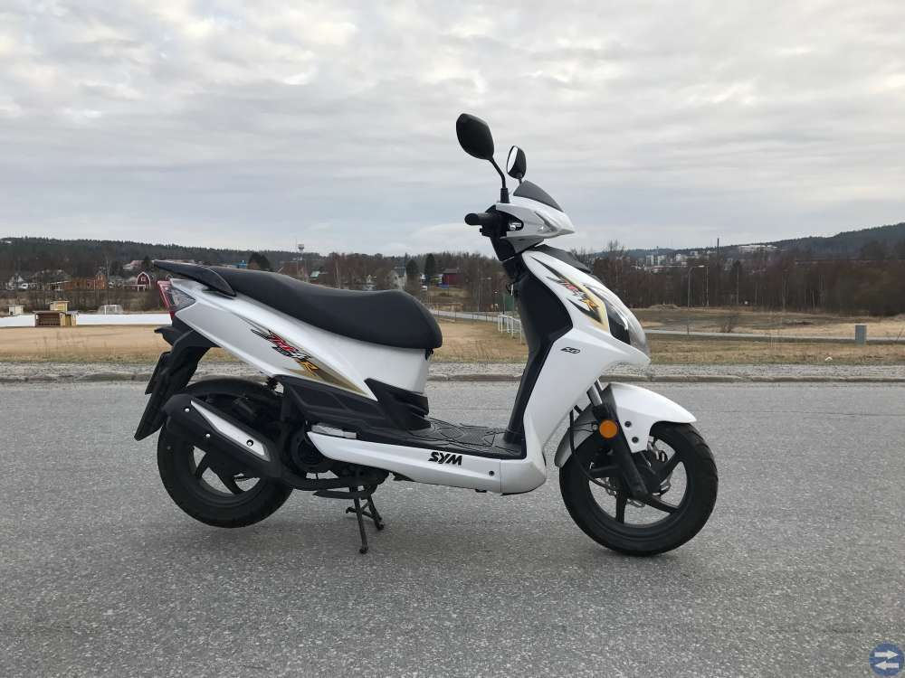 SYM Jet4R EU moped 2014
