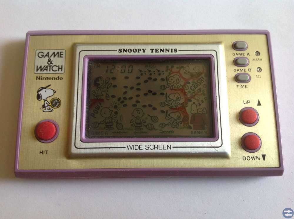 Game & Watch Snoopy Tennis