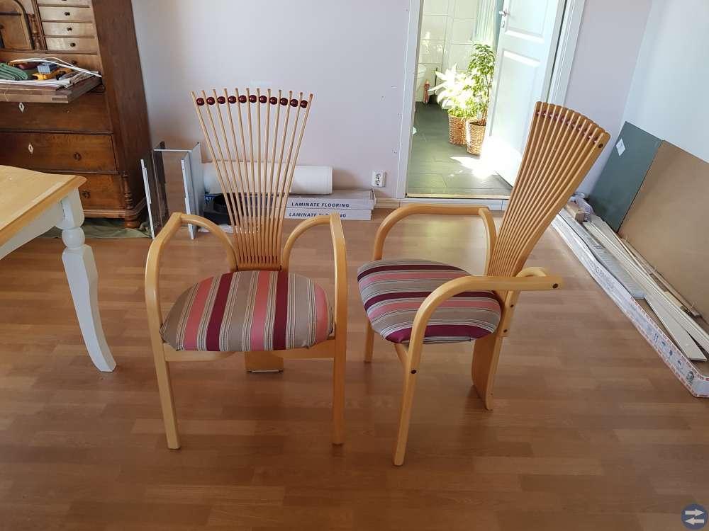 Karmstolar, övriga stolar