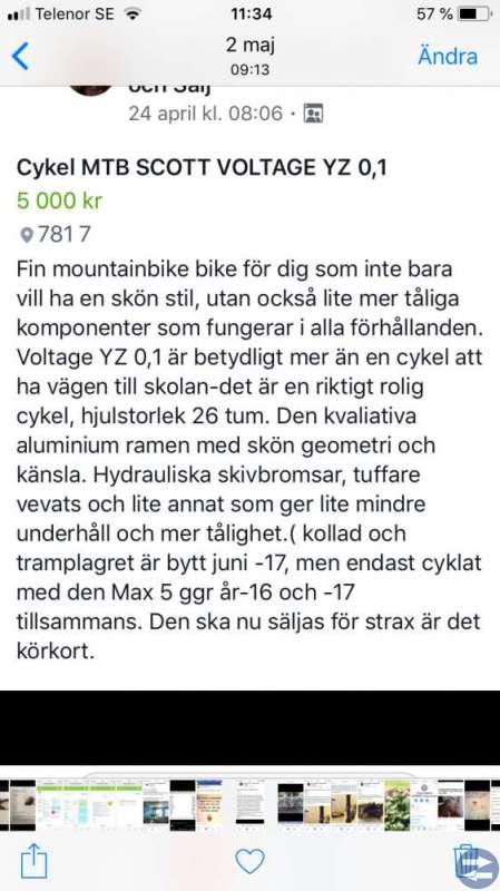 MTB SCOTT VOLTAGE YZ 0,1