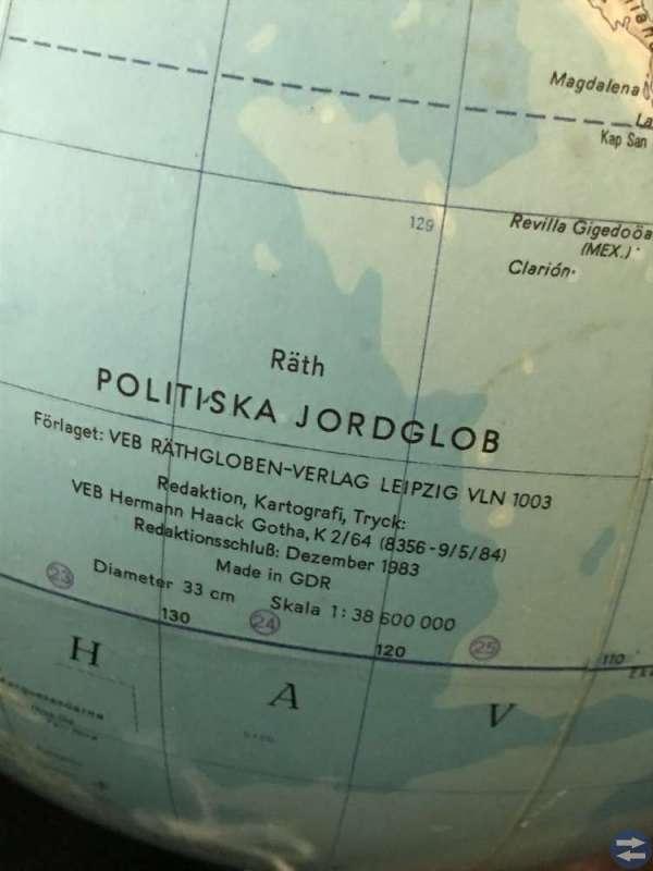 Jordglob