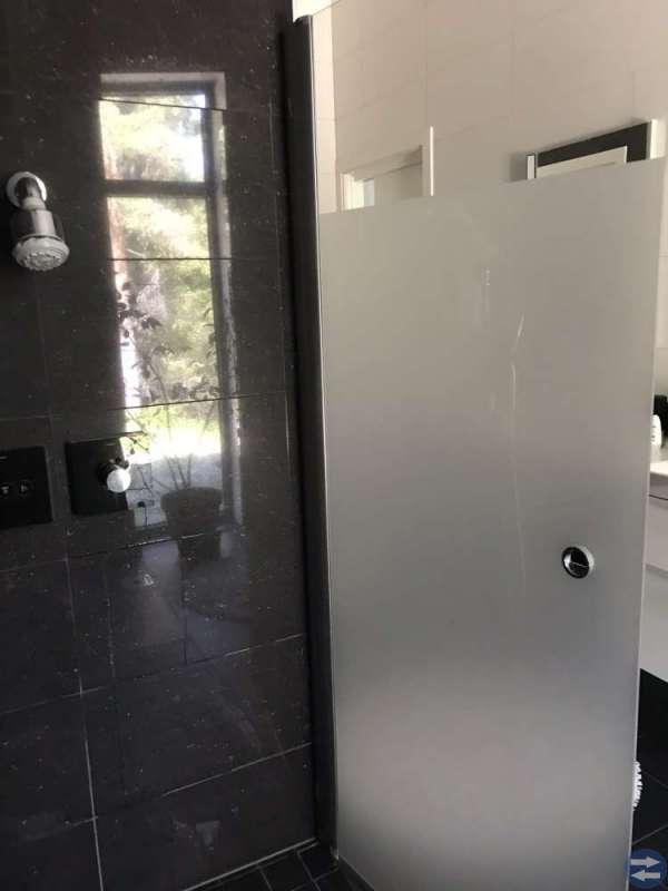 Duschvägg/dörr rak, alt vikbar ny
