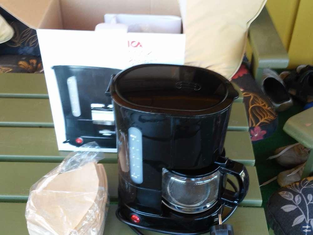 Kaffebryggare.
