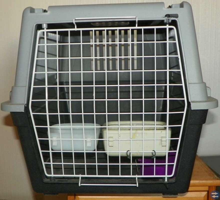 Transportbur djur, godkänd för flyg