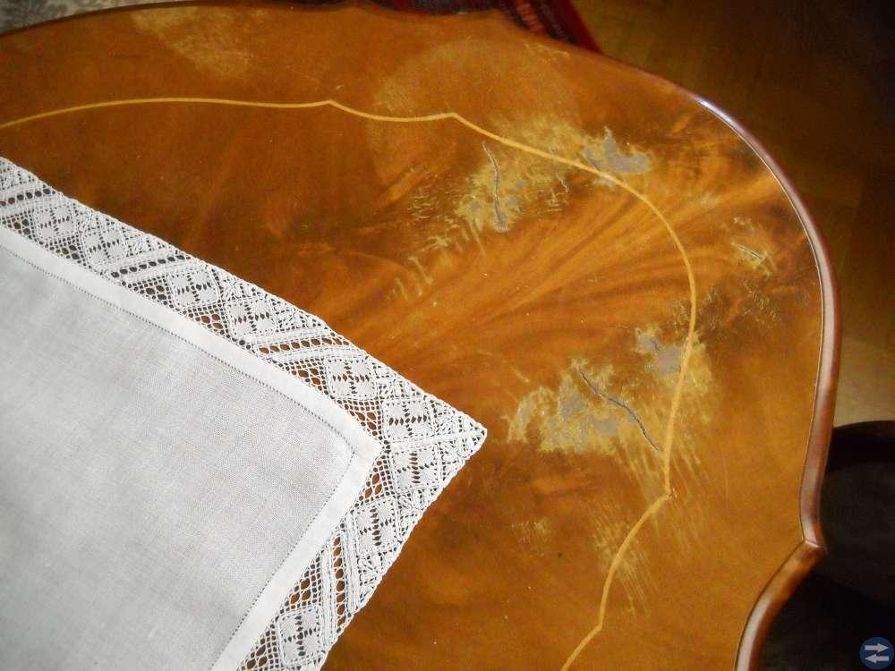 Stilmöblemang Fint linneskåp Sideboard