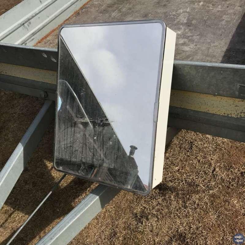 Badrumsskåp m. spegel
