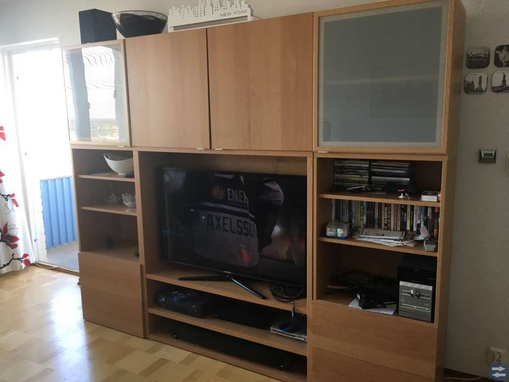 IKEA:s Bestå bokhylla.