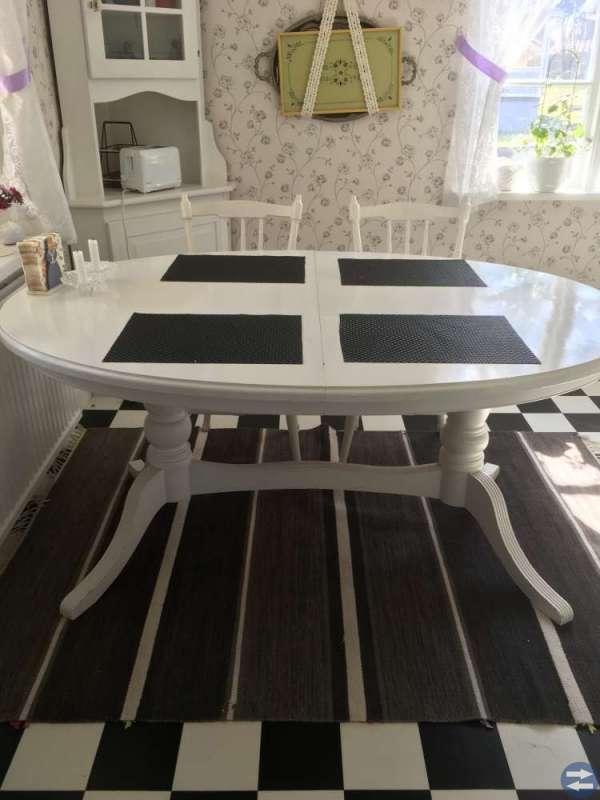 Bord +6 stolar