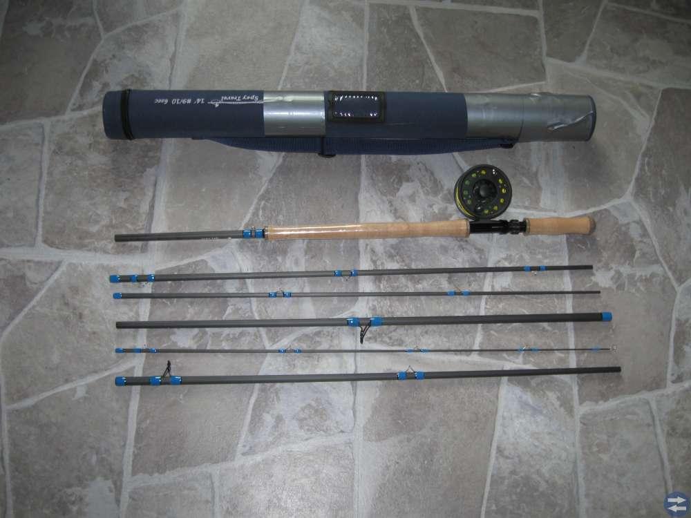 Flugfiskeset NYTT med rulle 14 fot (långt spö) mm