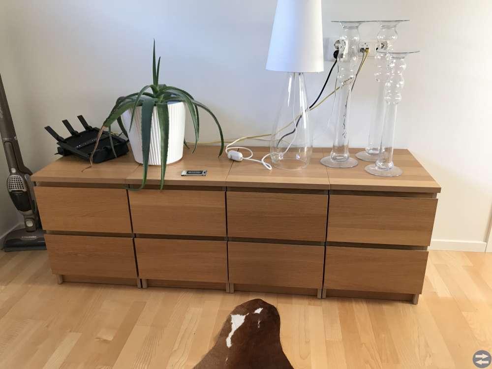 Sängbord/tv-bänk