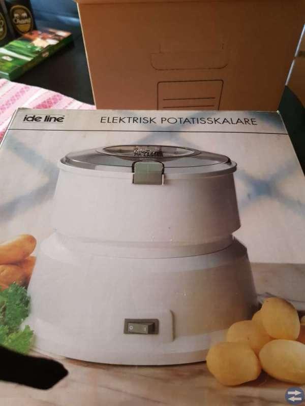 Elektrisk potatisskalare