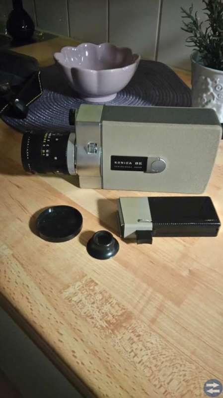 Videokamera Konica 8E