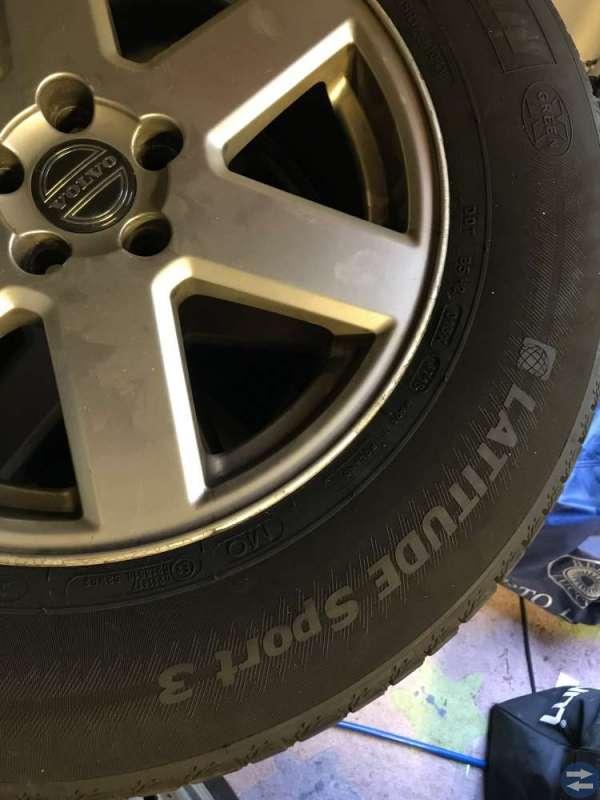 4 sommardäck till Volvo XC90