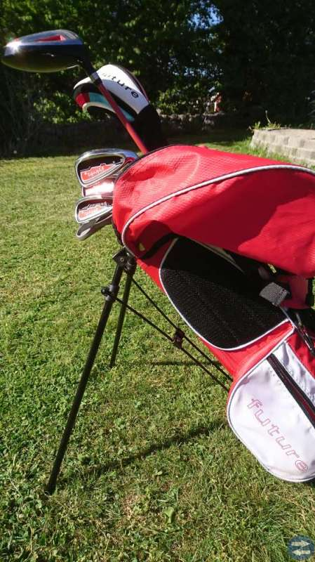 Golfklubbor + bag , Future JR