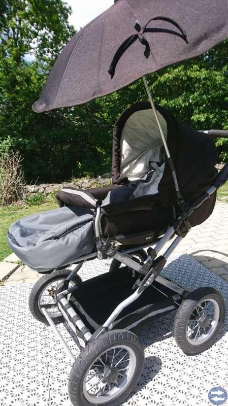 Brio Happy Compact barnvagn, ligg/sittdel etc