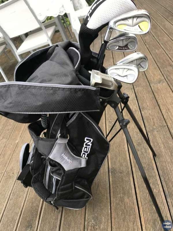 Golfklubbor junior vänster