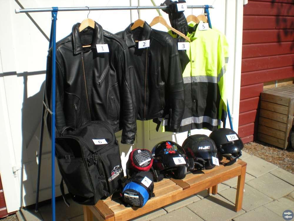 MC-kläder och tillbehör
