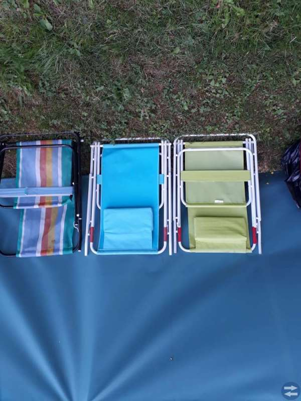 Camping stolar.Dynor