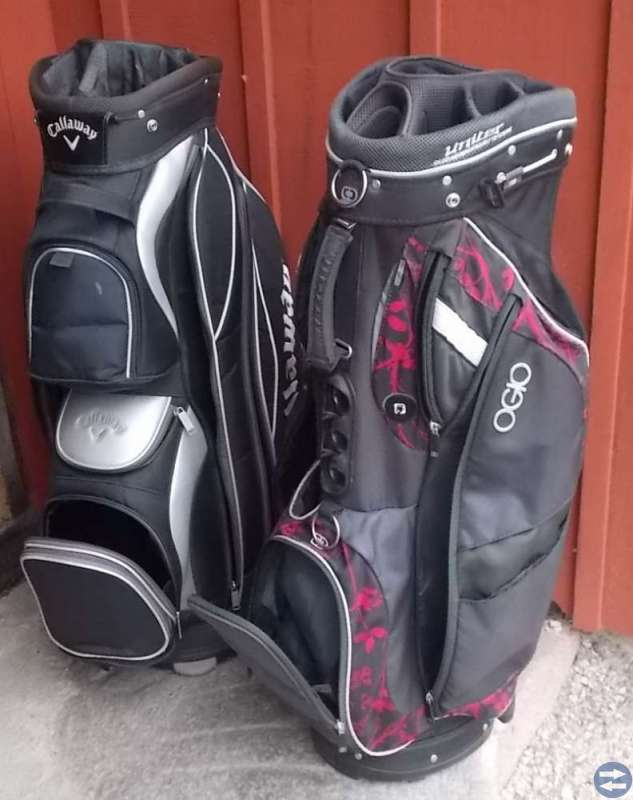 2 st golfbagar