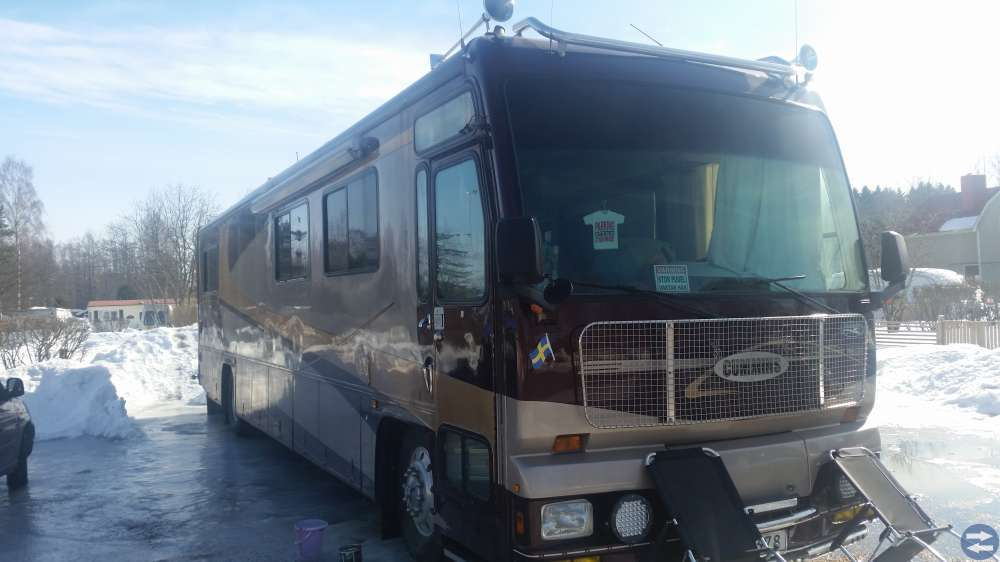 Amerikansk husbuss