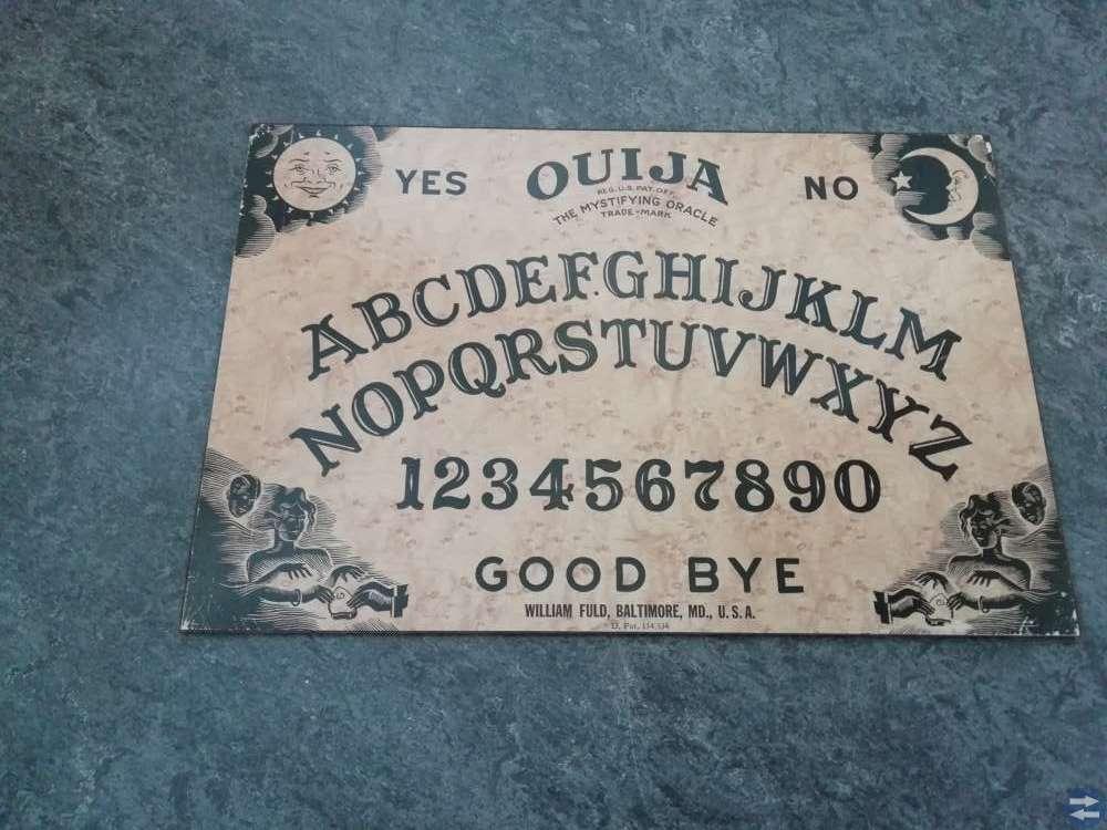Äkta ouija board