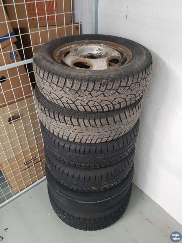 Blandade hjul bud
