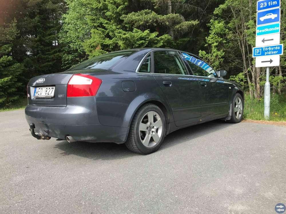 Audi A4 163HK Sport sedan