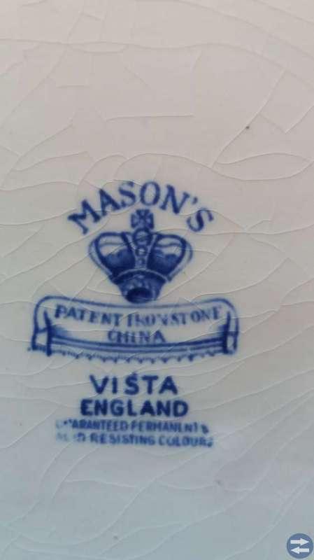 Blått fat Masoan