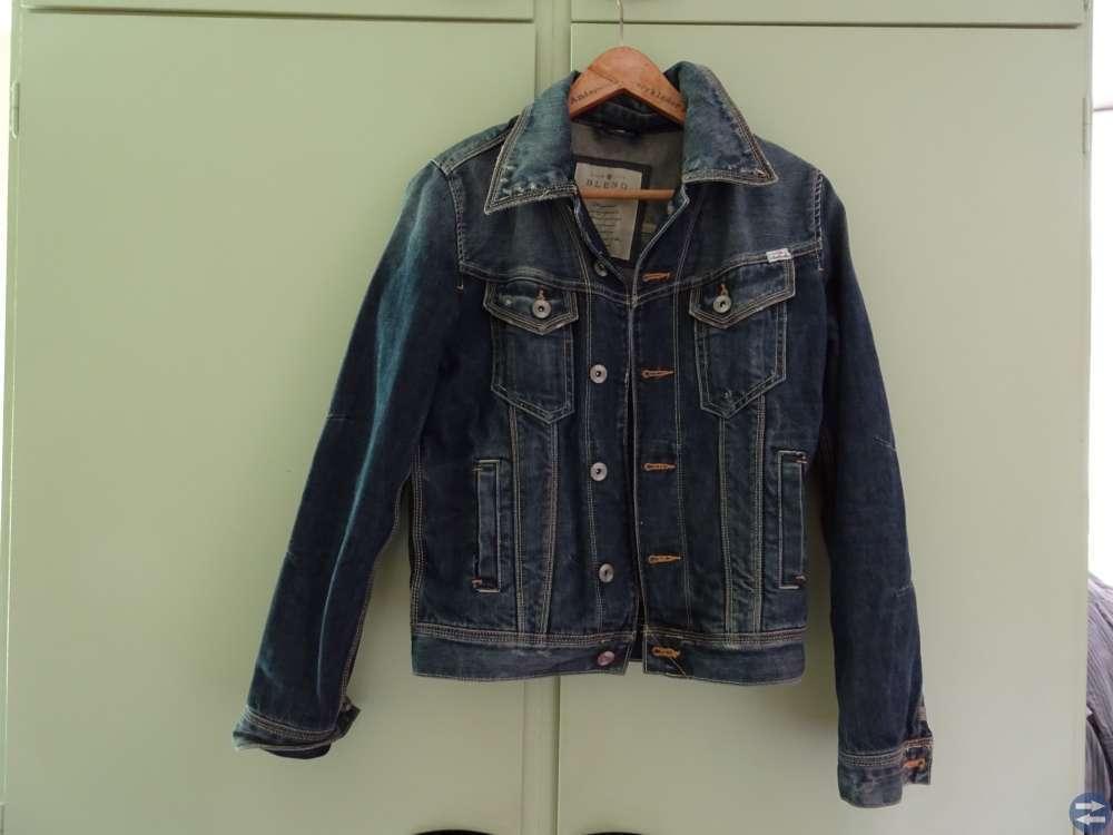 Jeansjackor, 3st i olika modeller