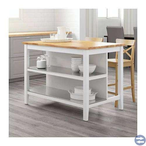 Databord, kontorsstolar, köksö, tv-bänk