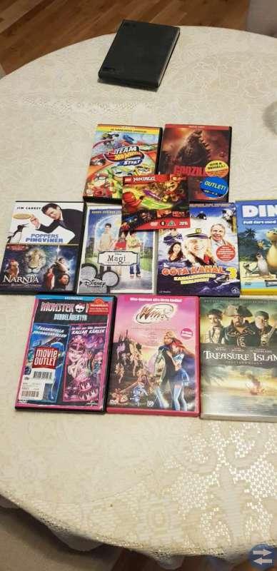 DVD familj Dvd filmer barn-vuxen blandat