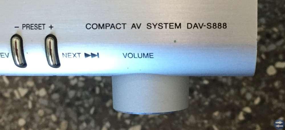 Sony förstärkare 5 kanaler, billigt!