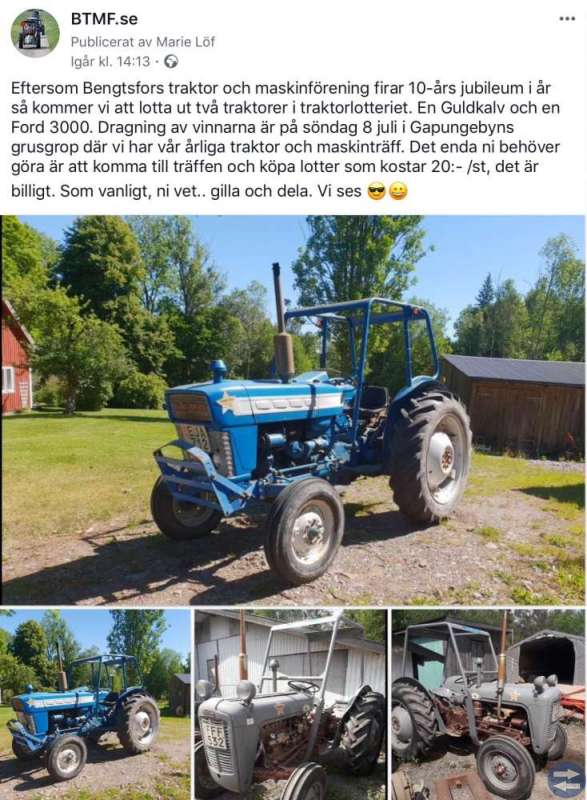 Traktor och maskinträff