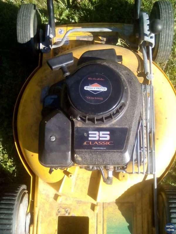 Gräsklippare motor